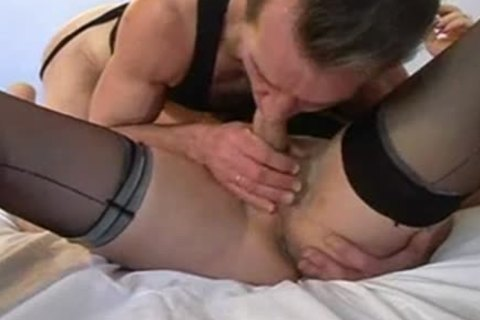 French old t-girl Diana receive fuck