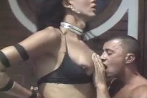 sexy transsexual hole gets A Hard ramrod
